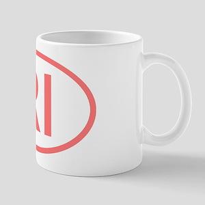 RI Oval - Rhode Island Mug