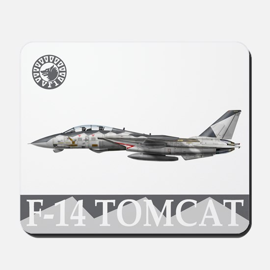 F-14 Tomcat VF-1 Wolfpack Mousepad