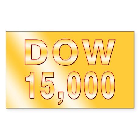 DOW 15000 Sticker