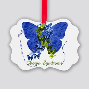 Down Syndrome Awareness Butterfly Ornament