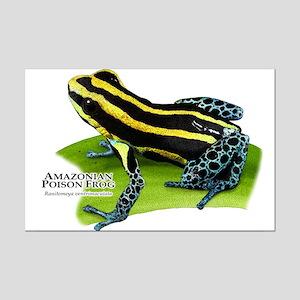 Amazonian Poison Frog Mini Poster Print