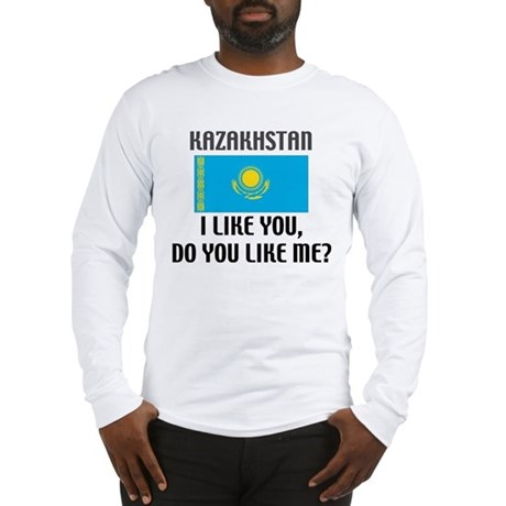 Kazakhstan Do you Like Me? Long Sleeve T-Shirt