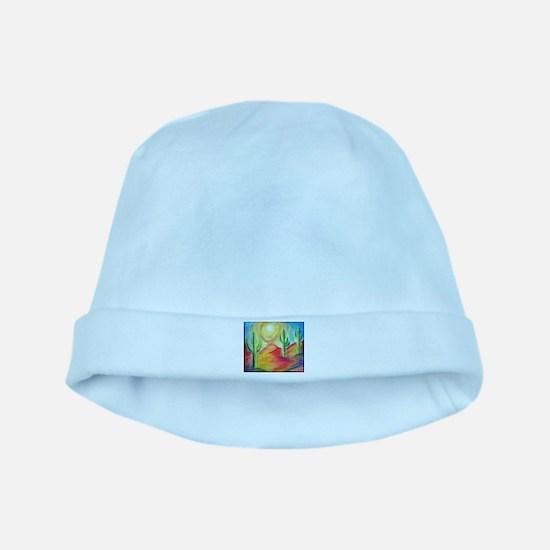 Desert, Southwest art! baby hat