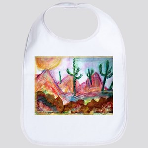 Desert! Southwest art! Bib