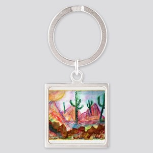 Desert! Southwest art! Keychains