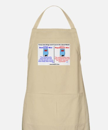 voting booth BBQ Apron