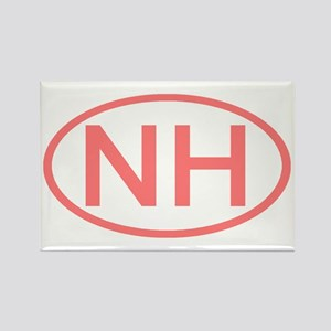 NH Oval - New Hampshire Rectangle Magnet