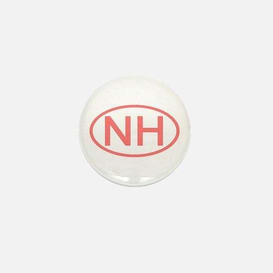 NH Oval - New Hampshire Mini Button