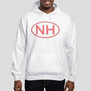 NH Oval - New Hampshire Hooded Sweatshirt