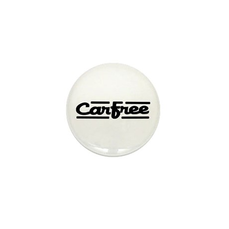 Carfree Mini Button (10 pack)