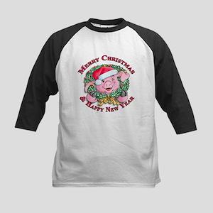Christmas 1 Kids Baseball Jersey