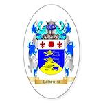 Cataruzza Sticker (Oval 50 pk)