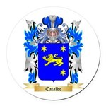 Cataldo Round Car Magnet