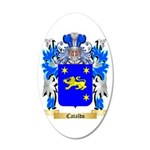 Cataldo 35x21 Oval Wall Decal