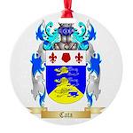 Cata Round Ornament