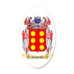Castrillo Oval Car Magnet