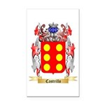 Castrillo Rectangle Car Magnet