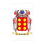 Castrillo Sticker (Rectangle 10 pk)