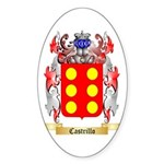 Castrillo Sticker (Oval)
