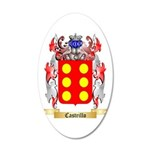 Castrillo 20x12 Oval Wall Decal