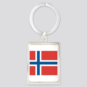 Norwegian Flag Keychains