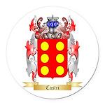 Castri Round Car Magnet