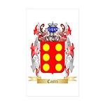 Castri Sticker (Rectangle 50 pk)