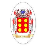 Castri Sticker (Oval 10 pk)