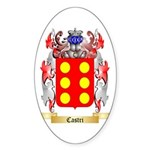 Castri Sticker (Oval 50 pk)