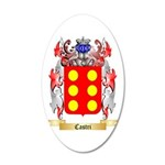 Castri 20x12 Oval Wall Decal