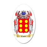 Castri 35x21 Oval Wall Decal