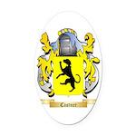 Castner Oval Car Magnet