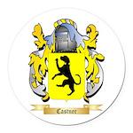 Castner Round Car Magnet