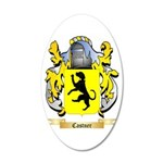 Castner 20x12 Oval Wall Decal