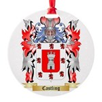 Castling Round Ornament