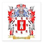 Castling Square Car Magnet 3