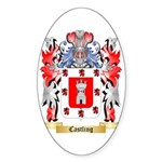 Castling Sticker (Oval 50 pk)