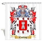 Castling Shower Curtain