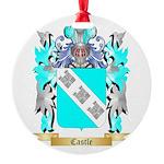 Castle Round Ornament