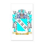 Castle Rectangle Car Magnet