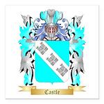 Castle Square Car Magnet 3