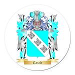 Castle Round Car Magnet