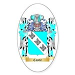 Castle Sticker (Oval 50 pk)