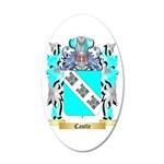 Castle 20x12 Oval Wall Decal