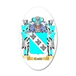 Castle 35x21 Oval Wall Decal