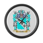 Castle Large Wall Clock