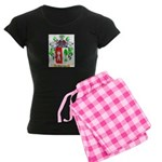 Castillou Women's Dark Pajamas