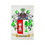 Castillou Rectangle Magnet
