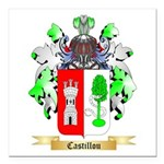 Castillou Square Car Magnet 3