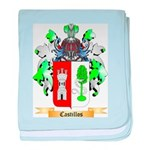 Castillos baby blanket